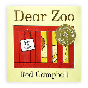 Dear Zoo by Rod Campbell (Board book, 2007)