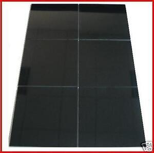 600x600 Black Floor Tiles