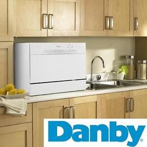 NEW* DANBY COUNTERTOP DISHWASHER - 123164743 - 6 PLACE SETTING PORTABLE