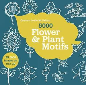 USED (LN) 5000 Flower & Plant Motifs by Graham Leslie McCallum