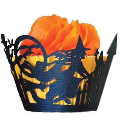 Halloween Laser Cut Cupcake Wrappers on eBay (Click on Image)