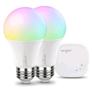 Sengled Sengled Element Colour Plus A19 Kit with 2 LED Bulbs and
