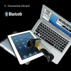 Wireless Bluetooth Barcode Scanner for Windows, Apple IOS and Android