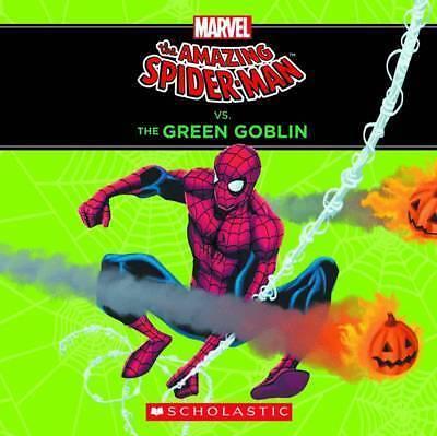 *BRAND NEW* MARVEL'S THE AMAZING SPIDER-MAN VS THE GREEN GOBLIN (Toddler book)