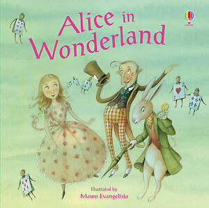 Alice-in-Wonderland-Usborne-Picture-Book-Brand-New-Paperback-R-R-P-4-99
