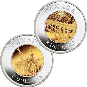 Silver: 2005 Canada $8 Chinese Railway Workers Silver 2-Coin Set