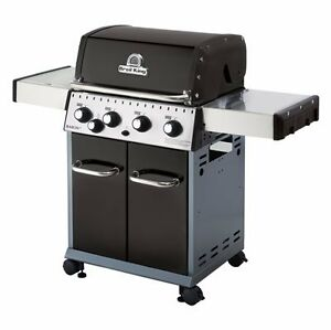 Broil King Baron Barbecue & Side Burner. Natural Gas.