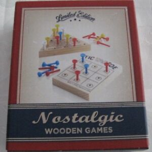 Travel Wooden Games