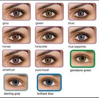 COLORED COSMETIC NON-PRESCRIPTION CONTACTS & HAIR EXTENSIONS
