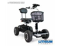 Pro Golf Buggy With Lithium battery FOR SALE