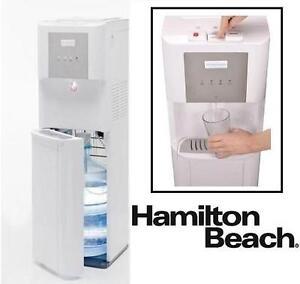 NEW HAMILTON BEACH WATER DISPENSER - 109348835 - HOT, COLD, AND ROOM TEMPERATURE - BOTTOM LOADING