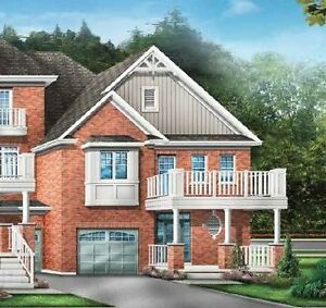 New 4 Bedroom End Unit townhome in Markham, Greensborough York