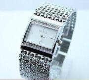 Stainless Steel Watch Ladies Crystal