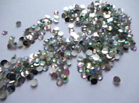 (x80) Vitrail Rainbow Gems, Art Crafts Clearance Sale