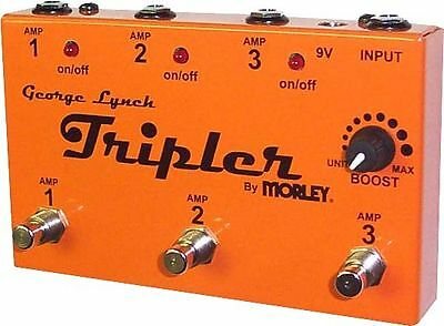 TRIPLER George Lynch Morley Amplifiers AMP Selector Combiner Pedal