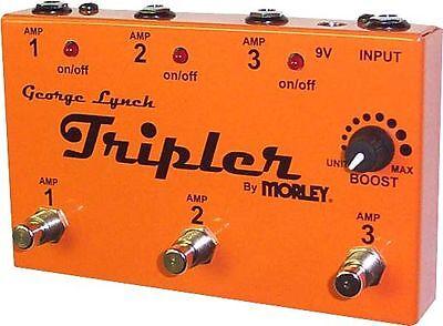 TRIPLER George Lynch Morley Amplifiers AMP Selector Combiner Pedal