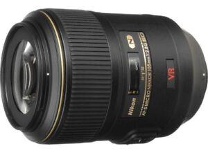 Lentille Nikon Micro 105 mm f2.8