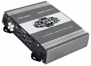 Pyramid PB717X 1000W Max 2-Channel Car Amplifier - Car Subwoofers