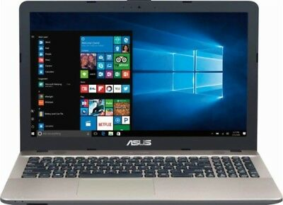 New Asus Vivobook Max X541na 15 6  Intel Pentium 4Gb 500Gb Dvdrw Laptop Notebook