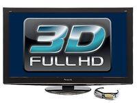 Panasonic 50in 3D TV & 3D BlueRay Player