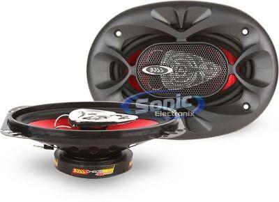 BOSS Audio CH4630 250 Watt 4 x 6 Inch Full Range 3 Way Car Speakers (PAIR) 4x6' 3 Way Speaker