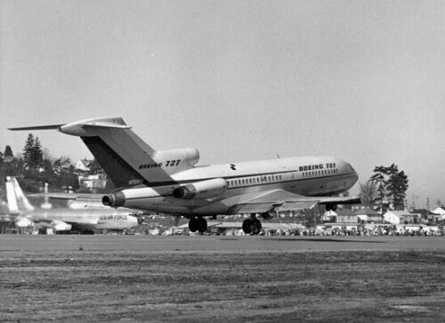 "Boeing 727 ((8.5""x11"")) Print"