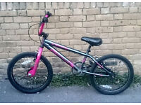 "Girls Apollo Awesome 20"" BMX Bike In Very Good Condition"