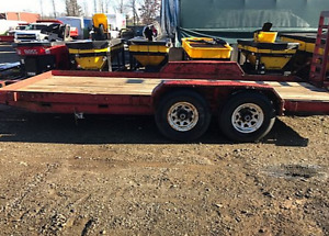 LOOKING TO BUY DAMAGED UTILITY TRAILERS!