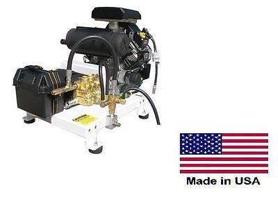 Pressure Washer Skid Mount - Cold Water - 4 Gpm - 3500 Psi - 12 Hp Honda Cat