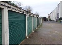 Garage car parking space available in a secure gated mansion block development, remote entry, W14
