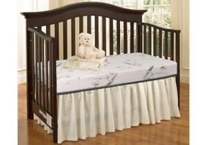 BRAND NEW Crib Mattress with Bamboo Quilting - Bio Foam & Orthopedic Mattres ** Lowest Crib Matress Price in CANADA **