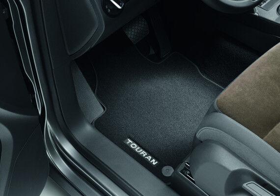*Original VW Fußmatten Stoffmatten Premium vorn+hinten Touran 1T1061270 WGK