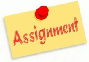 Assignment Help (Low rates, guaranteed results or full refund)