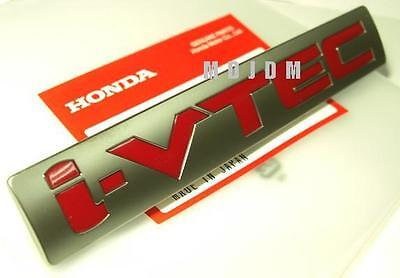 Oem i-VTEC emblem fits to All HONDA i-VTEC Cars Civic Integra Prelude FD2 DC2