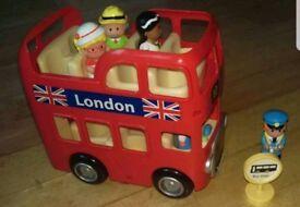 Happy Land London Bus Set ELC