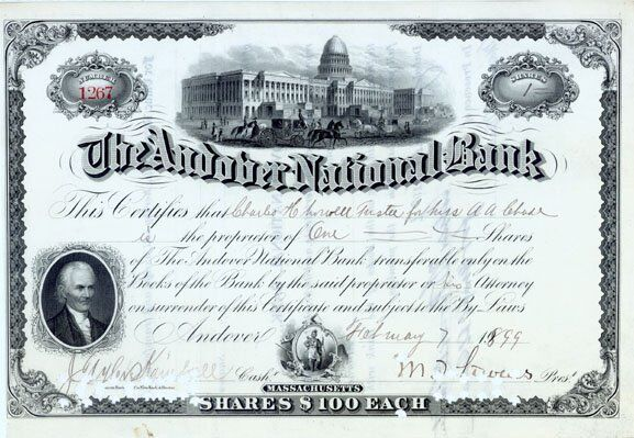 THE ANDOVER NATIONAL BANK