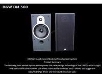 B+W DM560 speakers