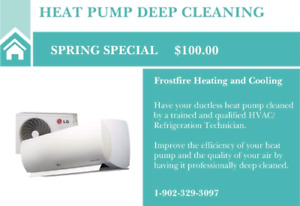 Heat Pump Cleaning Special