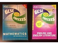 2in1 Letts Maths and English GCSE Success - Visual Revision Guides