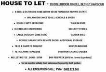 4x2 house 600m block close to schools and shops Secret Harbour Rockingham Area Preview