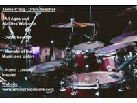 Drum lessons for all ages and abilities | DBS Checked