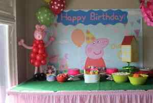 PEPPA PIG PARTY ONE STOP SHOP!