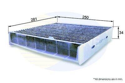 Comline Cabin Pollen Interior Air Filter EKF132A  - BRAND NEW