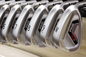 Ping i25 irons 4-AW, PXI shafts
