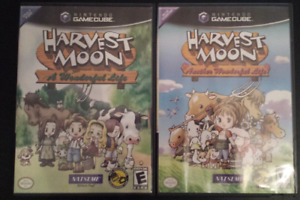 Harvest Moon A Wonderful Life & Another Wonderful Life