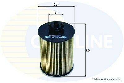Comline Engine Oil Filter EOF032  - BRAND NEW - GENUINE