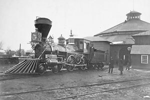 New 5x7 Civil War Photo: Locomotive of the United States Military Railroad
