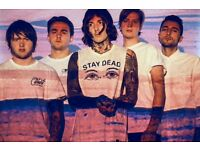Bring Me The Horizon tickets for the O2 Arena 5th November 2016