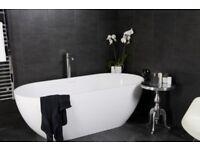 Bathroom/Kitchen Tile Effect PVC Panelling.
