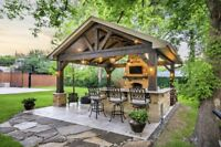 Custom creative outdoor spaces and much more